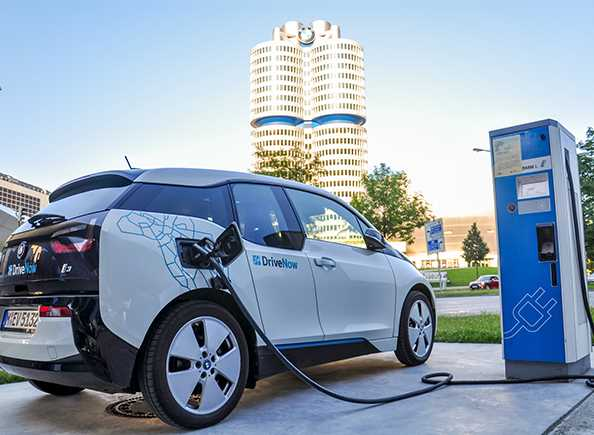 Electric Vehicle DC Rapid Charger Repair