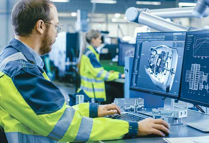 DC power for manufacturing automation