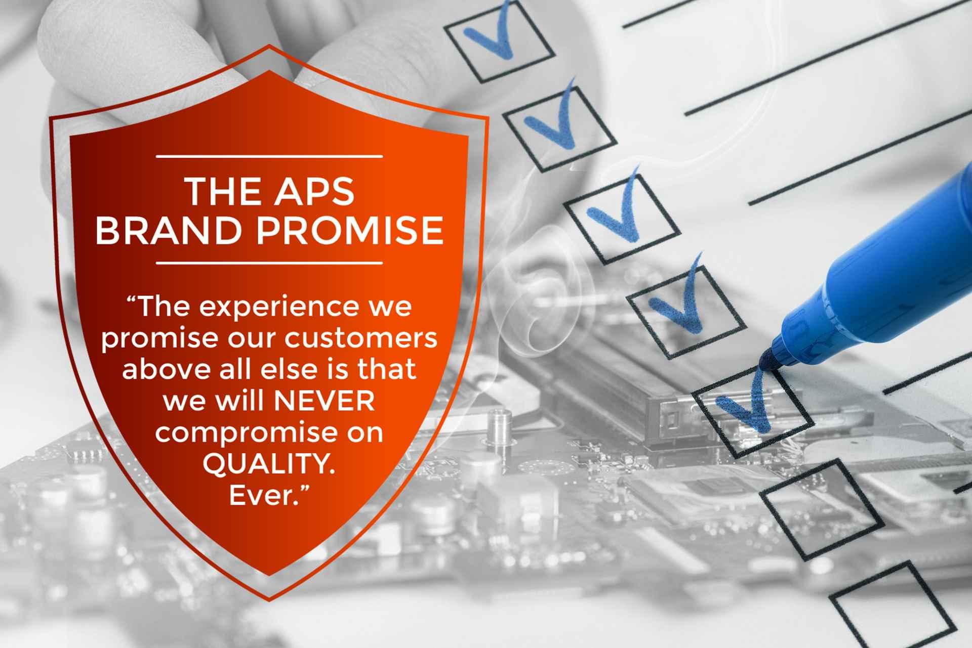 APS Brand Promise