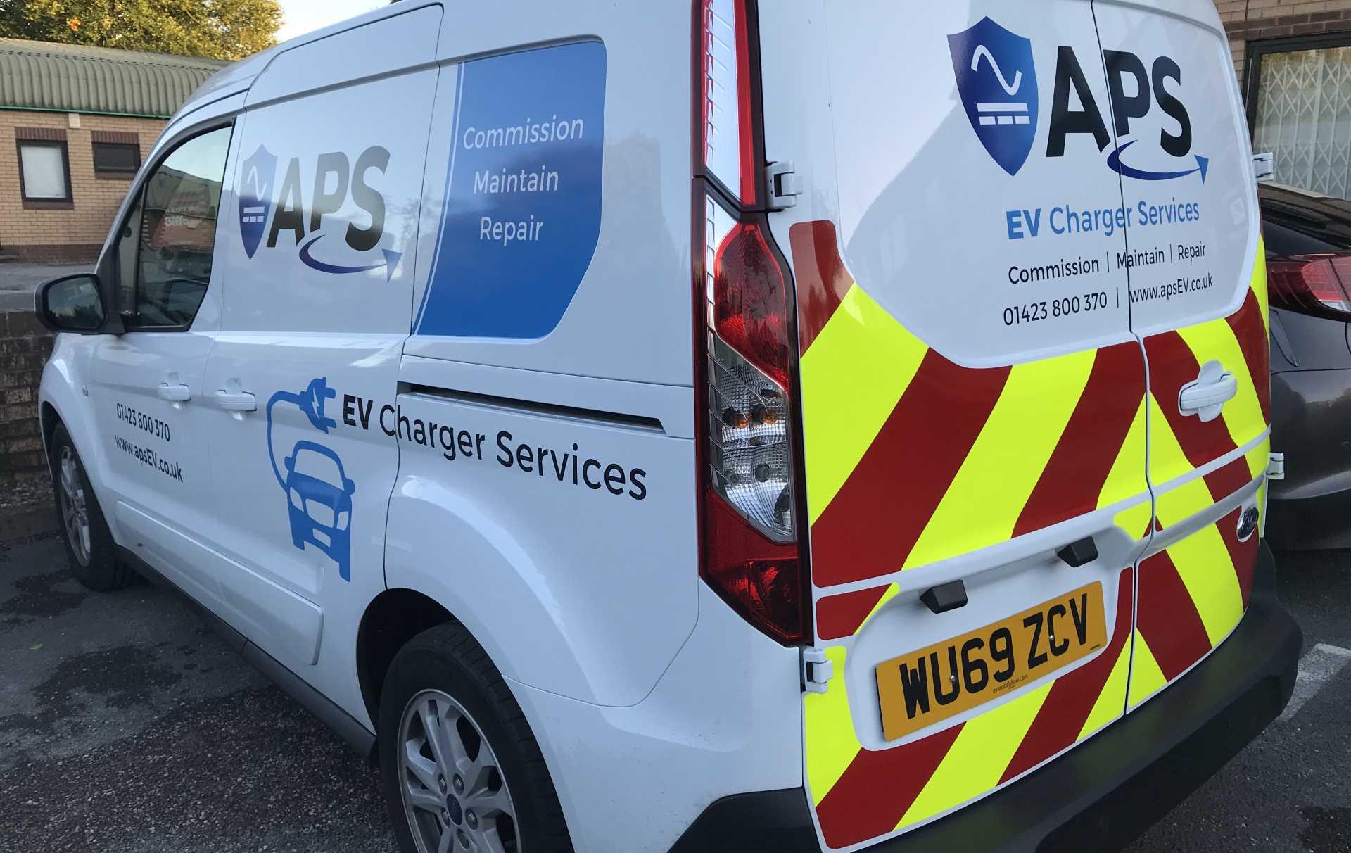 APS EV field service repairs